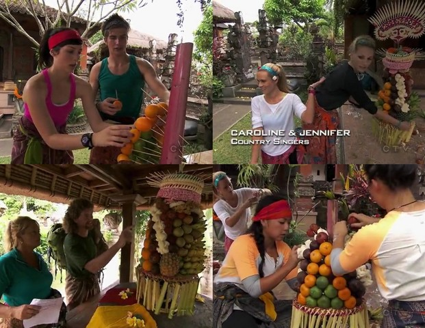 The Amazing Race 22, Bali Indonesia